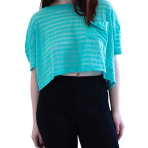 Urban Outfitters Sparkle & Fade striped shirt